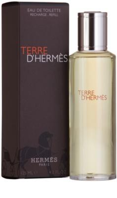 Hermès Terre D'Hermes toaletní voda pro muže  náplň 1