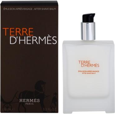 Hermès Terre D'Hermes After Shave balsam pentru barbati