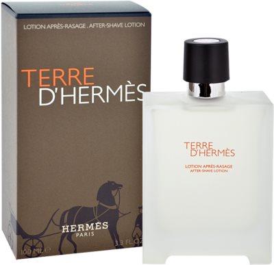 Hermès Terre D'Hermes after shave pentru barbati