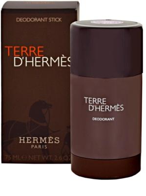 Hermès Terre D'Hermes desodorante en barra para hombre