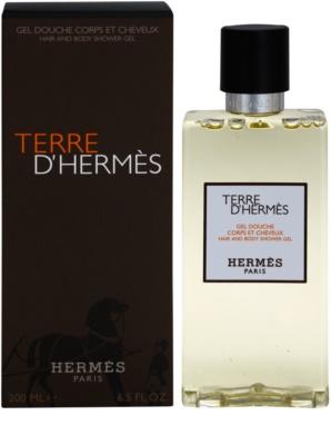 Hermès Terre D'Hermes gel de dus pentru barbati