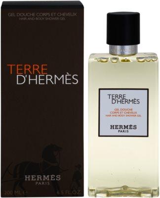 Hermès Terre D'Hermes żel pod prysznic dla mężczyzn