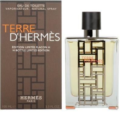 Hermès Terre D'Hermes H Bottle Limited Edition eau de toilette férfiaknak