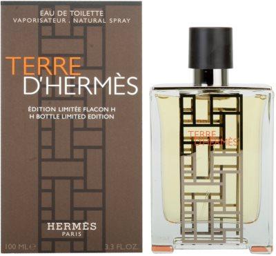 Hermès Terre D'Hermes H Bottle Limited Edition Eau de Toilette para homens