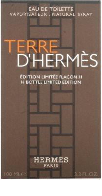 Hermès Terre D'Hermes H Bottle Limited Edition Eau de Toilette para homens 4