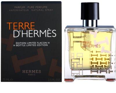 Hermès Terre D'Hermes H Bottle Limited Edition parfüm férfiaknak