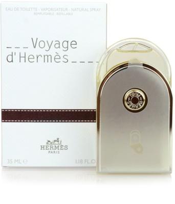 Hermès Voyage d´Hermes Eau de Toilette unissexo  recarregável