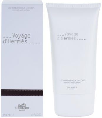 Hermès Voyage d´Hermes тоалетно мляко за тяло унисекс