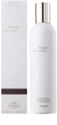 Hermès Voyage d´Hermes gel de duche unissexo