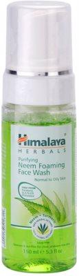 Himalaya Herbals Face Care Washes tisztító hab normál és zsíros bőrre