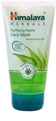 Himalaya Herbals Face Care Washes gel de curatare pentru piele normala si grasa