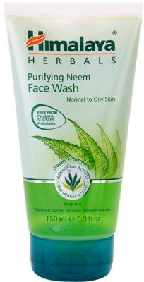 Himalaya Herbals Face Care Washes gel de limpeza para pele normal a oleosa