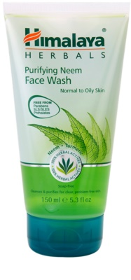Himalaya Herbals Face Care Washes почистващ гел  за нормална към мазна кожа