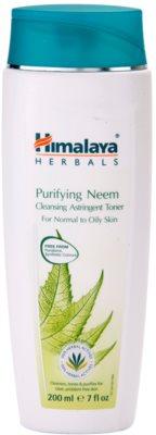 Himalaya Herbals Face Care Toners hloubkově čisticí pleťová voda pro normální až mastnou pleť
