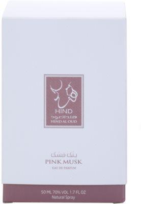 Hind Al Oud Pink Musk Eau de Parfum unisex 4