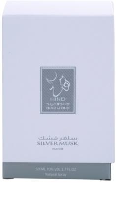 Hind Al Oud Silver Musk Limited Edition Eau de Parfum unisex 4