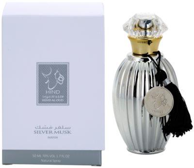 Hind Al Oud Silver Musk Limited Edition Eau de Parfum unissexo