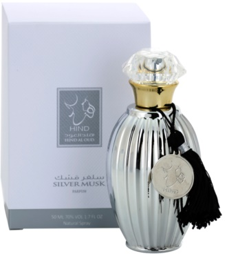 Hind Al Oud Silver Musk Limited Edition Eau de Parfum unisex 1