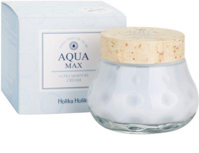 Holika Holika Aqua Max creme hidratante e apaziguador  para pele seca a muito seca 2