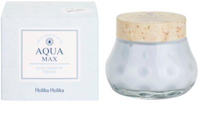 Holika Holika Aqua Max beruhigende und hydratisierende Creme für trockene bis sehr trockene Haut 3