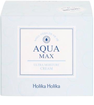 Holika Holika Aqua Max beruhigende und hydratisierende Creme für trockene bis sehr trockene Haut 4