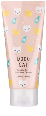 Holika Holika Dodo Cat spuma de curatare 3 in 1