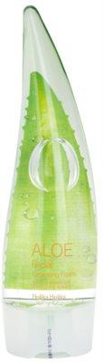 Holika Holika Aloe Facial mousse de limpeza com aloe vera