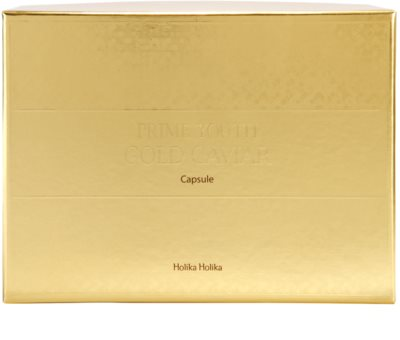 Holika Holika Prime Youth Gold Caviar tratamiento con caviar antiarrugas 4