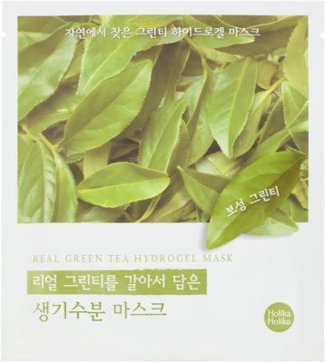 Holika Holika Hydrogel Mask hydratační pleťová maska s výtažkem zeleného čaje