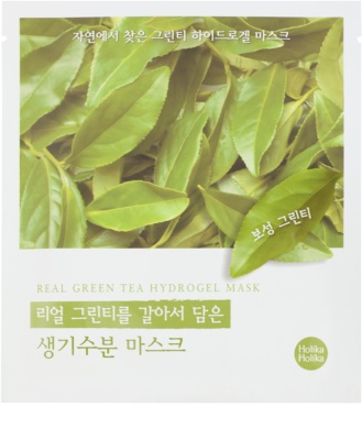 Holika Holika Hydrogel Mask máscara facial hidratante com extrato de chá verde