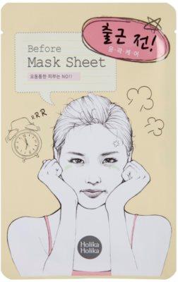 Holika Holika Mask Sheet Before masca -efect calmant