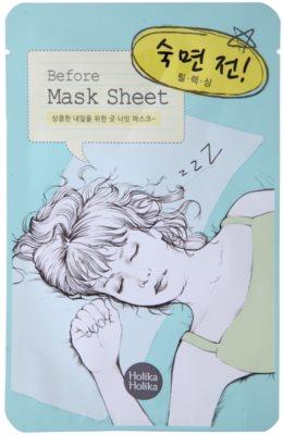 Holika Holika Mask Sheet Before entspannende Gesichtsmaske