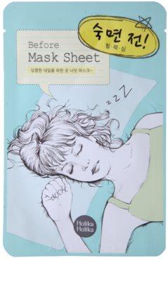 Holika Holika Mask Sheet Before máscara relaxante para o rosto