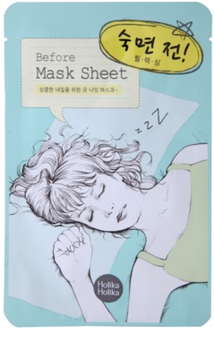 Holika Holika Mask Sheet Before maseczka relaksująca do twarzy