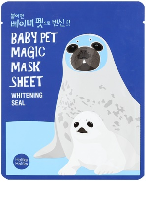Holika Holika Magic Baby Pet oczyszczająca maseczka do twarzy