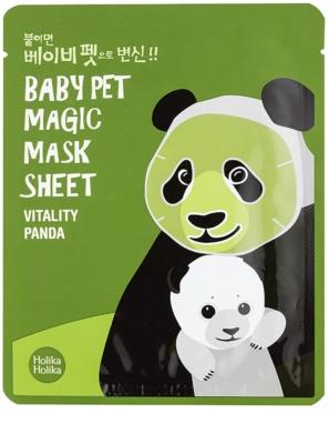 Holika Holika Magic Baby Pet mascarilla revitalizante e iluminadora