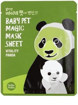 Holika Holika Magic Baby Pet revitalisierende und aufhellende Gesichtsmaske
