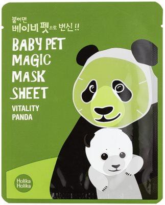 Holika Holika Magic Baby Pet revitalizacijska in posvetlitvena maska za obraz