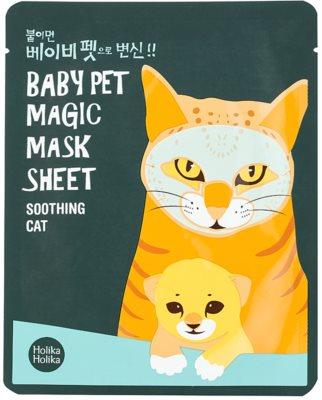 Holika Holika Magic Baby Pet Masca pentru fata cu efect catifelant si revigorant fata