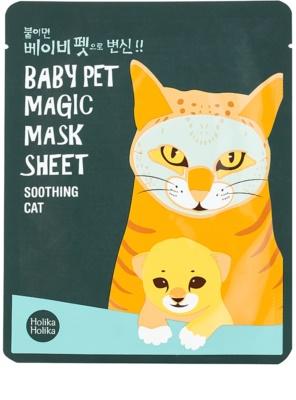 Holika Holika Magic Baby Pet освіжаюча та заспокоююча маска для обличчя