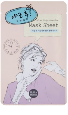 Holika Holika Mask Sheet After masca faciala revitalizanta