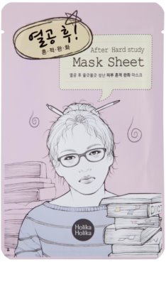 Holika Holika Mask Sheet After mascarilla limpiadora
