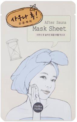 Holika Holika Mask Sheet After arcmaszk a pórusok méretének csökkentésére