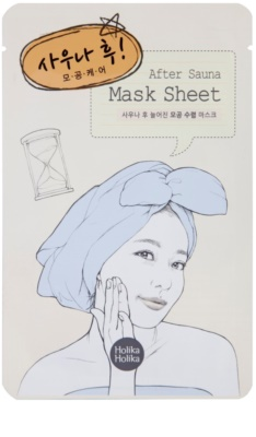 Holika Holika Mask Sheet After mascarilla facial para cerrar los poros