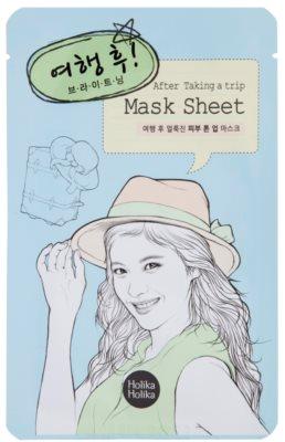 Holika Holika Mask Sheet After aufhellende Hautmaske für das Gesicht