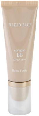 Holika Holika Naked Face BB creme  com alta proteção UV