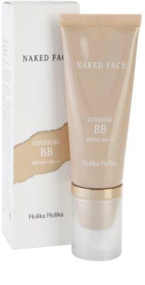 Holika Holika Naked Face BB creme  com alta proteção UV 1