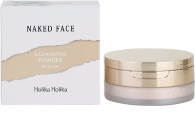 Holika Holika Naked Face сяюча пудра 2