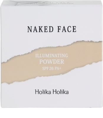 Holika Holika Naked Face сяюча пудра 3