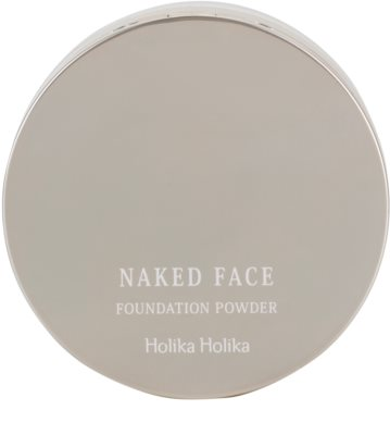 Holika Holika Naked Face base de pó 1